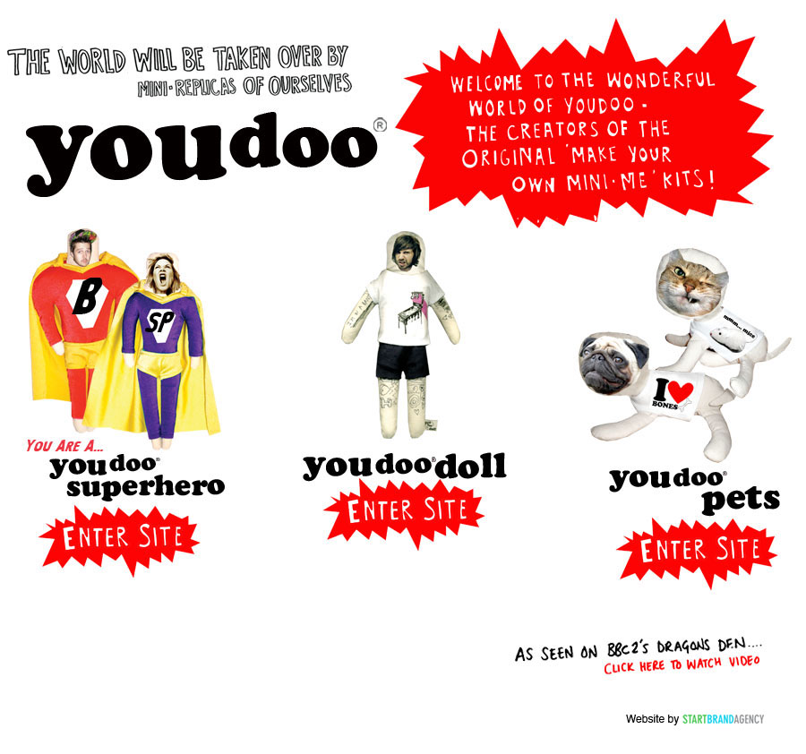Welcome to the wonderful world of Youdoo!